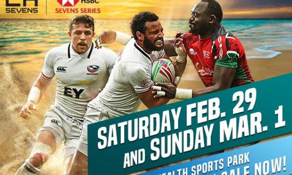Main image for event titled HSBC LA Sevens 2 Day Pack
