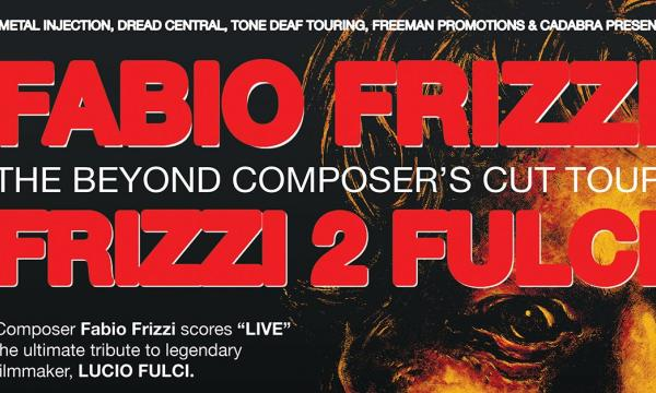Main image for event titled Fabio Frizzi performing the live score to THE BEYOND