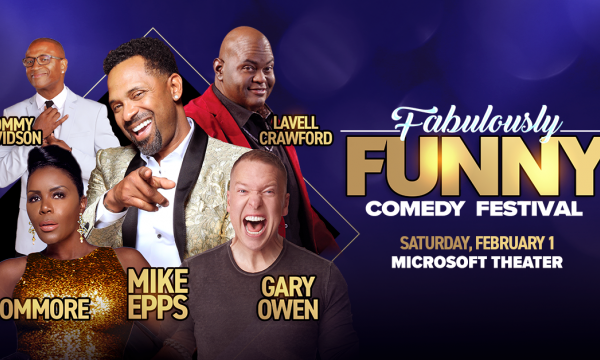 Main image for event titled The Fabulously Funny Comedy Festival: Mike Epps, Sommore, Gary Owen, Lavell Crawford, Tommy Davidson