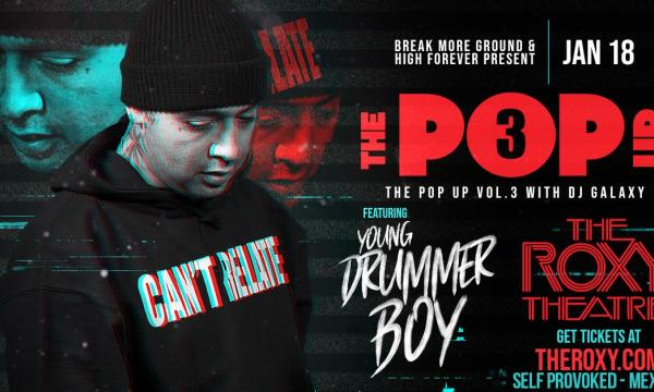 Main image for event titled THE POP UP : VOLUME 3