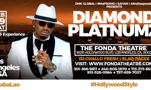 Main image for event titled Diamond Platnumz