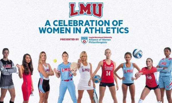 Main image for event titled LMU - Women in Athletics 2020