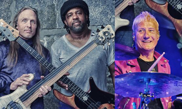 """Main image for event titled """"Bass Extremes"""" Featuring : Victor Wooten, Steve Bailey & Gregg Bissonette; Opening act - An Intimate Evening with Daniel Levitin -"""