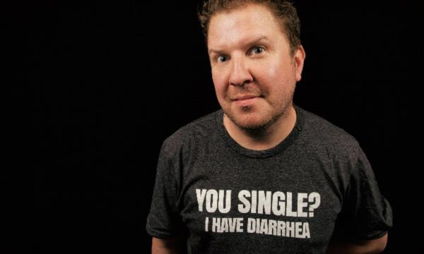 Main image for event titled Nick Swardson Make Talk From Face