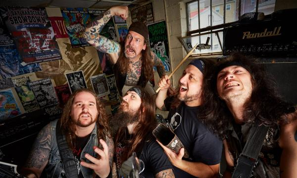 Main image for event titled Municipal Waste & Napalm Death