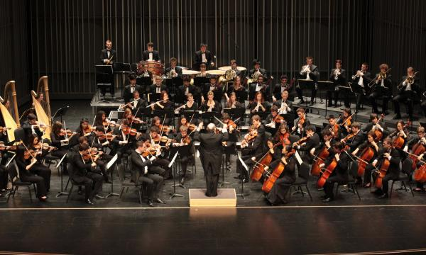 Main image for event titled Colburn Orchestra in Concert, Yehuda Gilad, Conductor