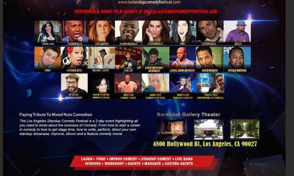 LA Stand Up Comedy Festival