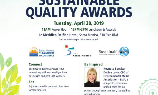Sustainable Quality Awards 2019 Flyer