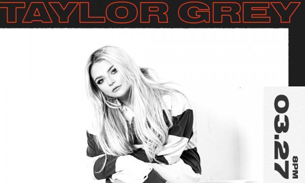 Taylor Grey x Peppermint Club 3/27 Show Flyer
