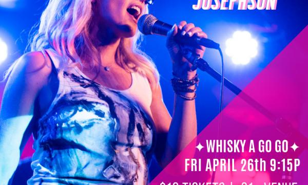 Pop-Rock Singer-Songwriter Brooke Josephson Performs Live on 4/26