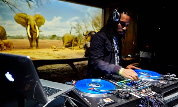 DJ Jedi at the Natural History Museum of Los Angeles County
