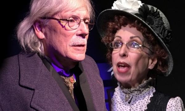 Chris DeCarlo and Evelyn Rudie star in Aleichem Sholom