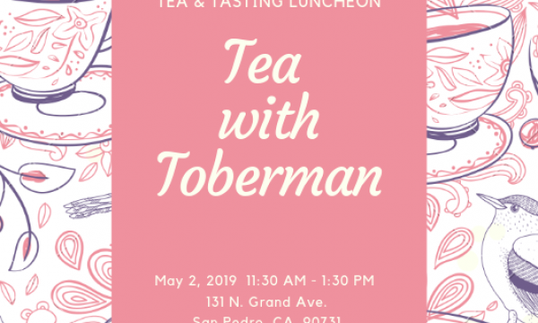 Tea w/ Toberman