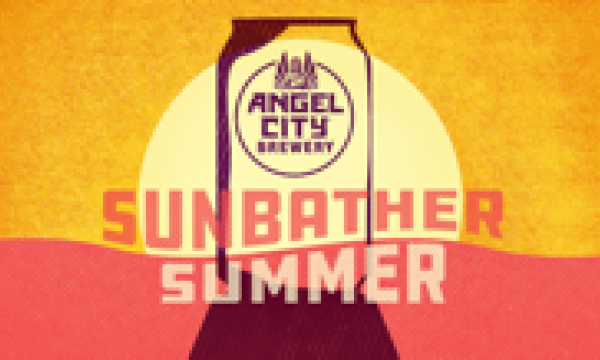 Sunbather Summer at Angel City Brewery Poster
