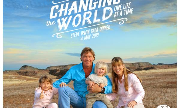 The Steve Irwin Gala Dinner, celebrating the life and legacy of the original Wildlife Warrior.