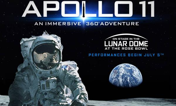 APOLLO 11 - On Stage At The Rose Bowl