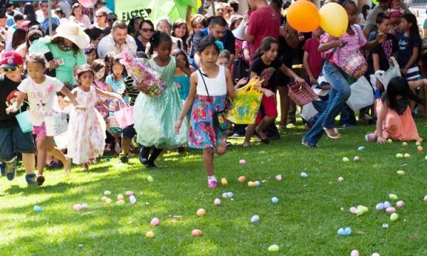 Easter Fest egg hunt