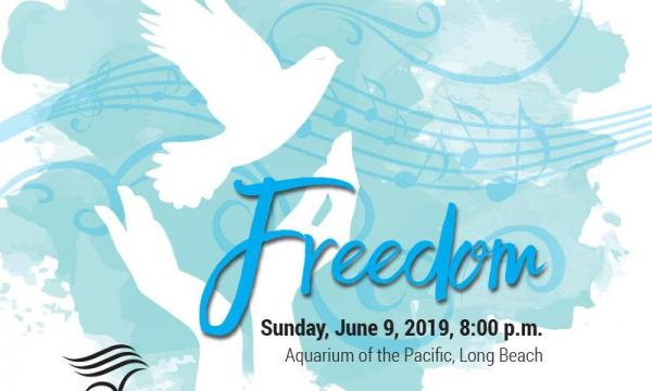 Long Beach Chorale presents Freedom, a celebration of liberty and freedom at the Aquarium of the Pacific.