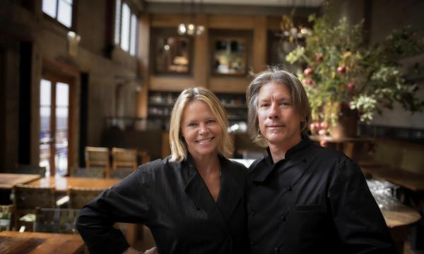 Foreign Cinema's Chefs Gayle Pirie and John Clark