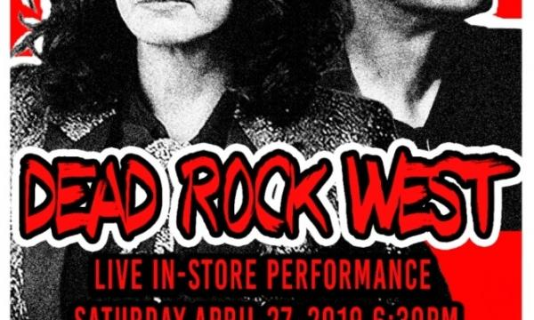 Dead Rock West - Live at Pop Obscure Records