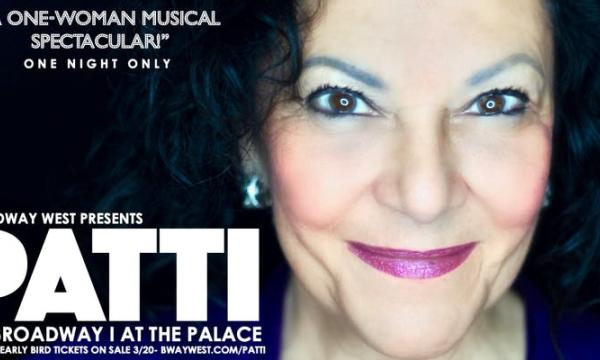 Patti Berman in a one woman, one night spectacular on Broadway!