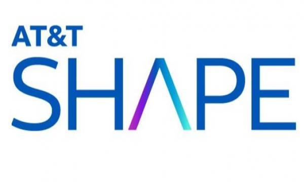 AT&T SHAPE logo