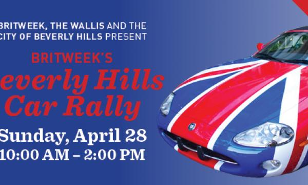 BritWeek Car Rally infographic