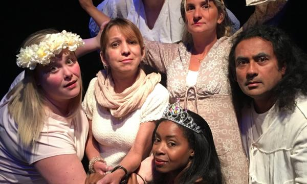 Actors Workshop members create an original play each session