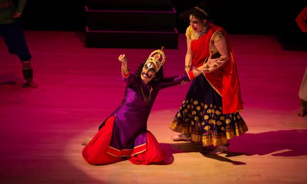 Ravan and Mandodari