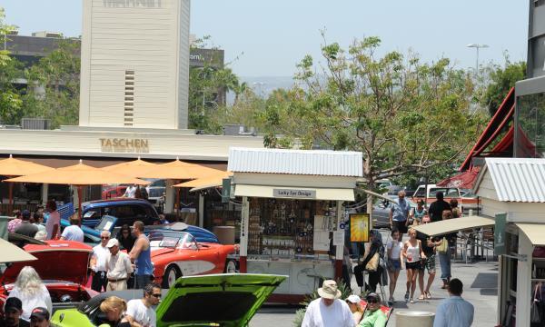 25th Annual Gilmore Heritage Auto Show at The Original Farmers Market