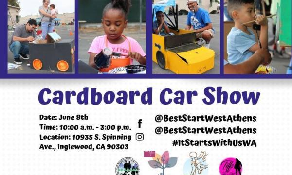 Cardboard Car Show