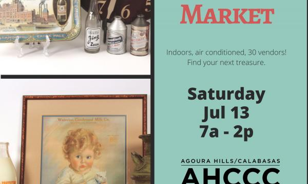 Community Flea Market, 7/13 - still accepting vendors!