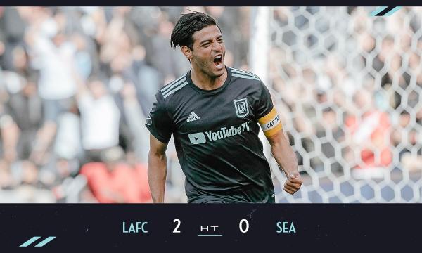 LAFC forward Carlos Vela