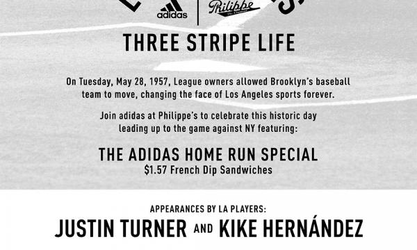 Three Stripes Event Flier