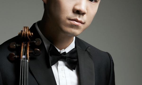 Violist Richard Yongjae O'Neill performs at The Broad Stage on Sunday May 26 at 2:00 pm.