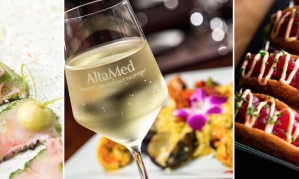 Food & Wine served