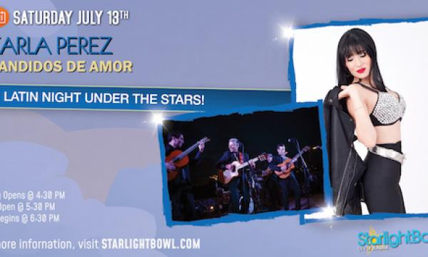 Latin Night Under the Stars with Karla Perez and Bandidos de Amor