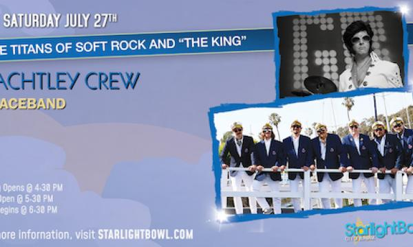 Yachtley Crew and Graceband Live at the Starlight Bowl