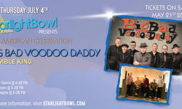 An American Celebration with Big Bad Voodoo Daddy & Rumble King
