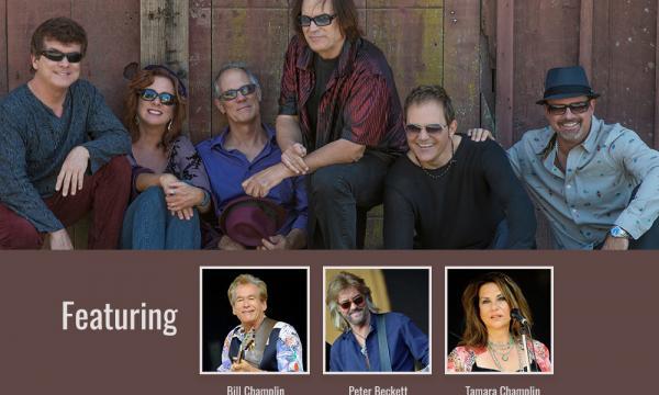 Ambrosia with Special Guest Bill Champlin, Peter Beckett and Tamara Champlin