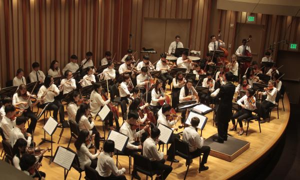 Wesley Youth Orchestra in concert