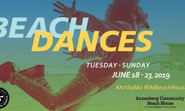 See dancers perform on the sand in Santa Monica