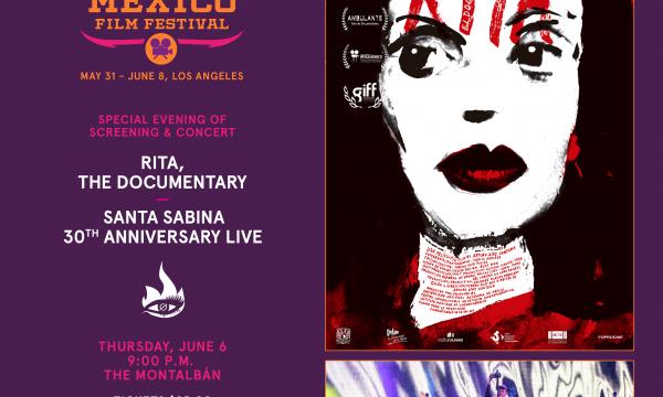 Hola Mexico Film Festival - RITA, THE DOCUMNETARY + Santa Sabina Concert