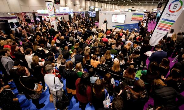 Another speaker from 5crm at the b2b marketing expo
