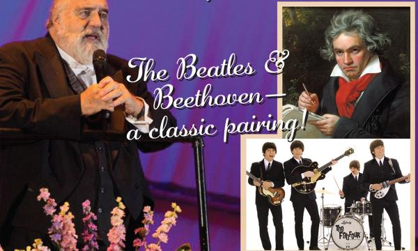 "California Philharmonic presents ""Beethoven Meets The Beatles"" with special guests, The Fab Four."