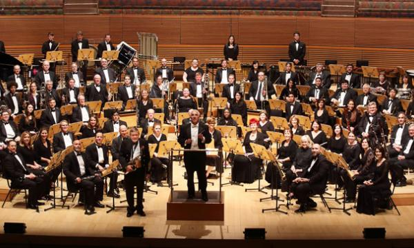 Los Angeles Symphonic Winds in Disney Hall