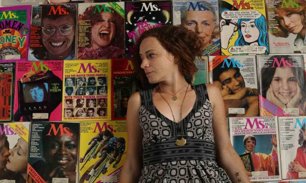 Director Irene Lusztig and MS. Magazine,