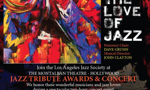 LA Jazz Society's 2019 Jazz Tribute Awards & Concert