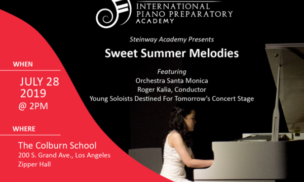 The Steinway Academy presents Sweet Summer Melodies