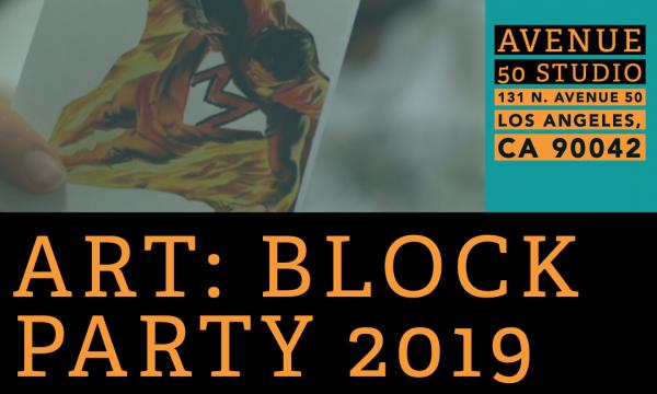 ART: BLOCK PARTY 2019 Flyer